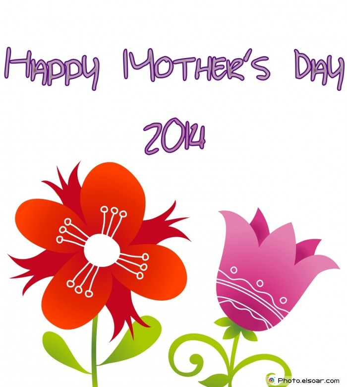 Happy Mother's Day 2014 with beautiful roses