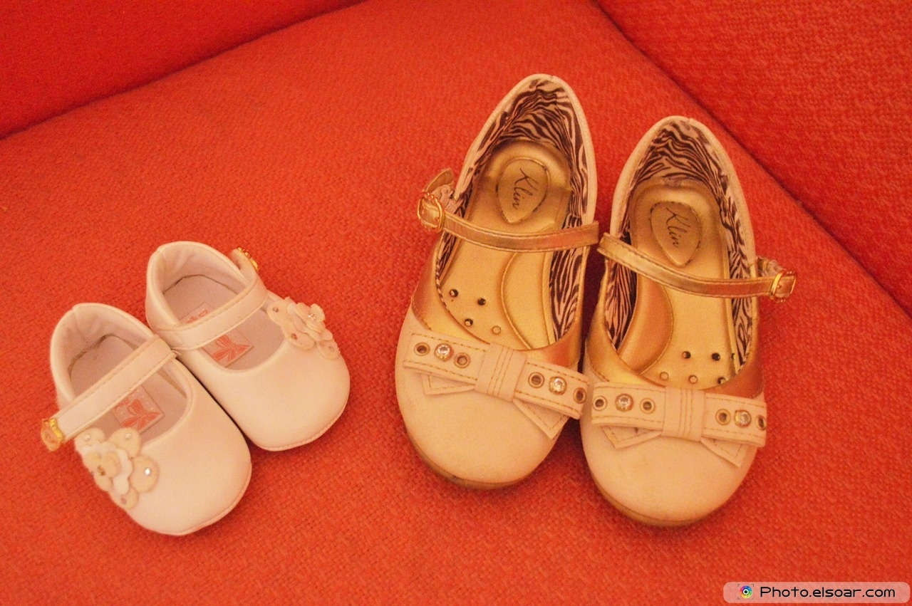 Japanese Mother , Baby, Shoes,