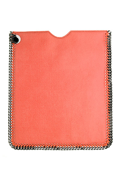orange iPad cover
