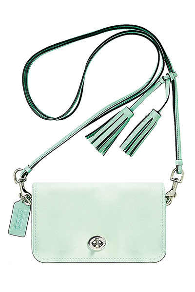 pale green bag