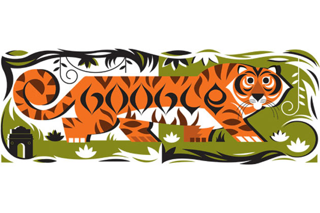 republic day india google doodle 2013