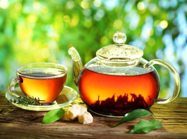 tea cup with tea 2