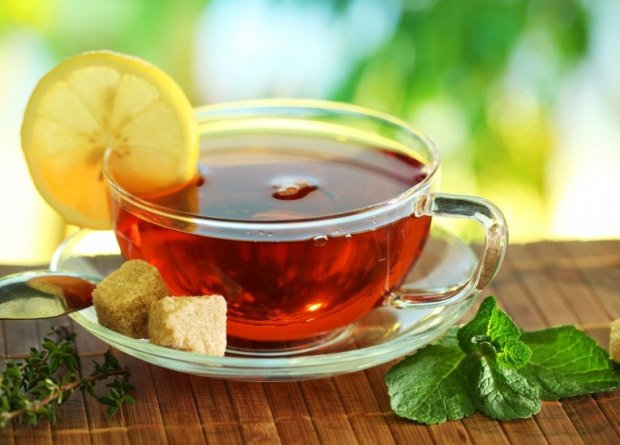 tea cup with tea 3