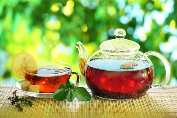 tea cup with tea
