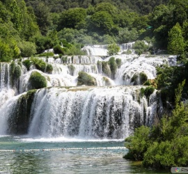 the Krka National Park, Croatia